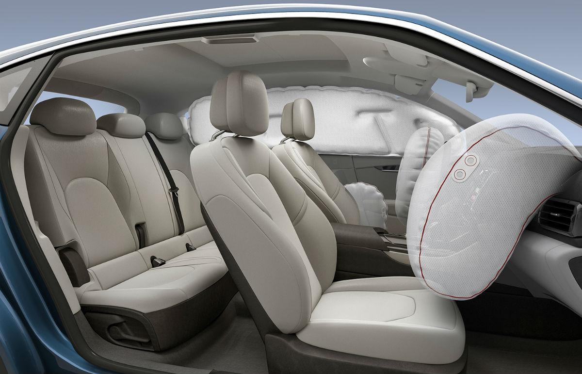 Airbags från Autoliv i bil