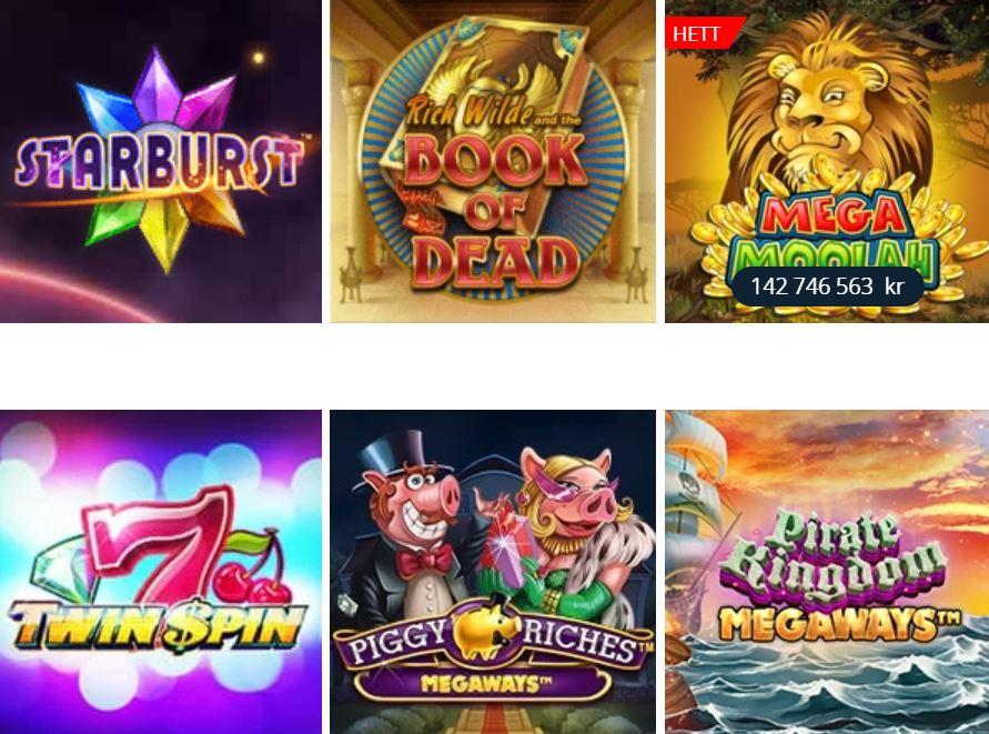 Casinospel hos Betsson