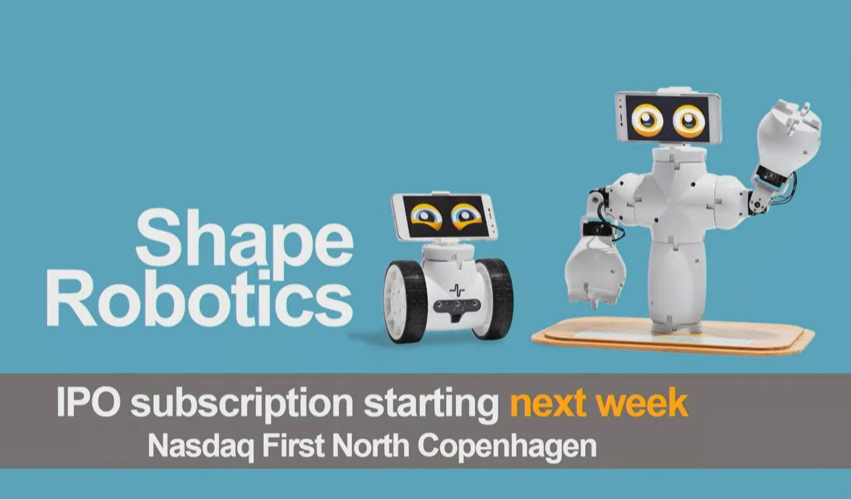 Shape Robotics IPO