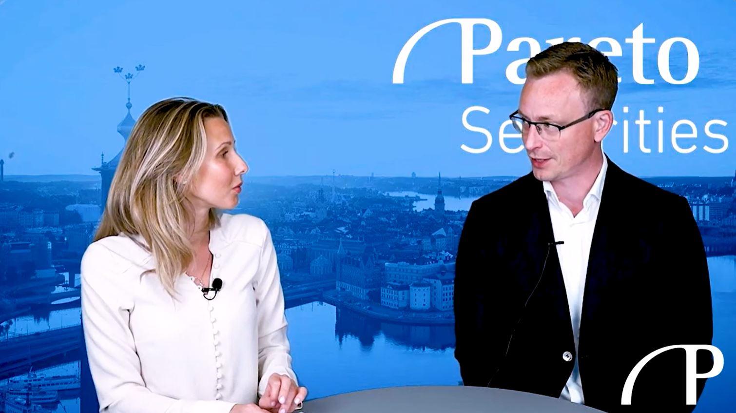 Lars-Ola Hellström, analytiker på Pareto Securities