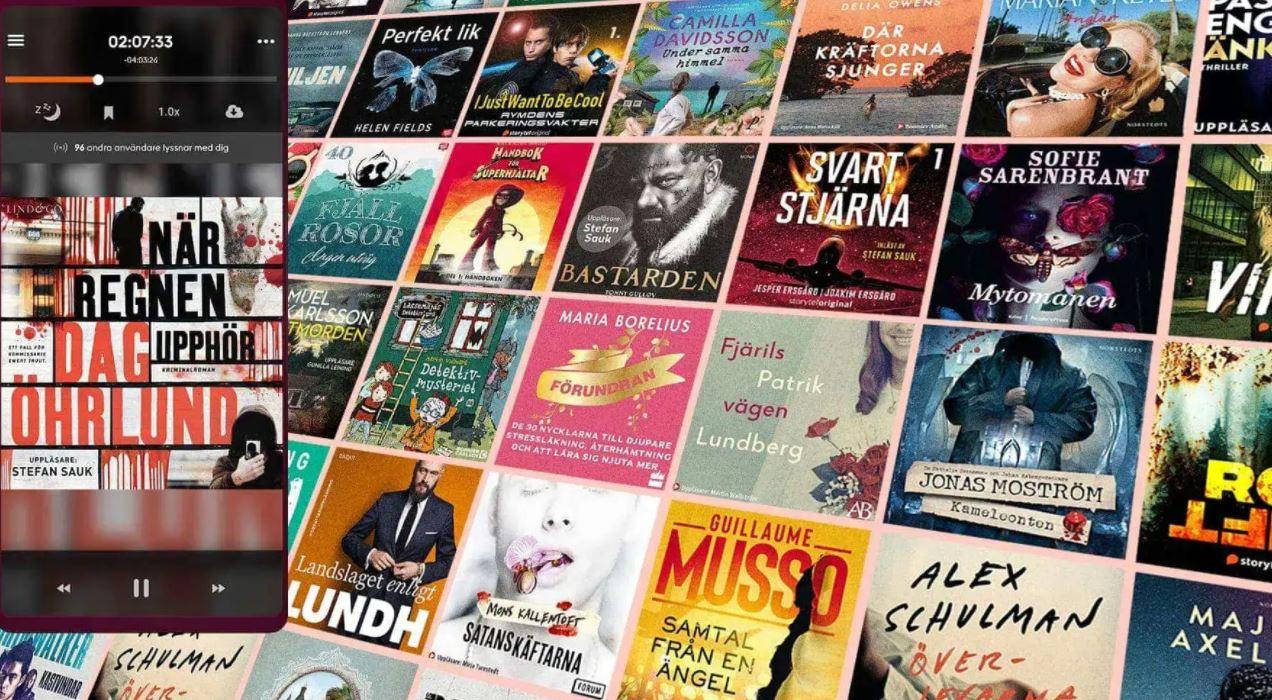 Storytel-böcker