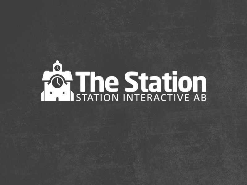Logotyp för bolaget The Station