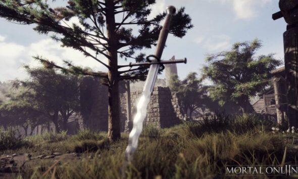 Svärd i spelet Mortal Online 2 från Star Vault