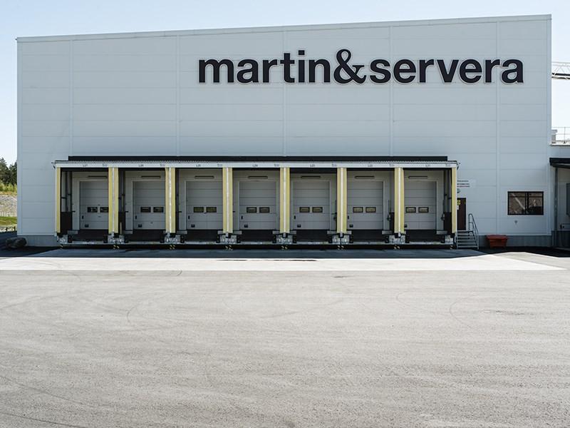 Halmslättens fastighet som hyrs av Martin & Servera