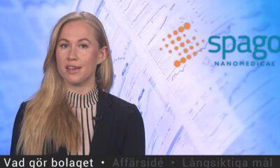 Presentatör av Spago Nanomedical