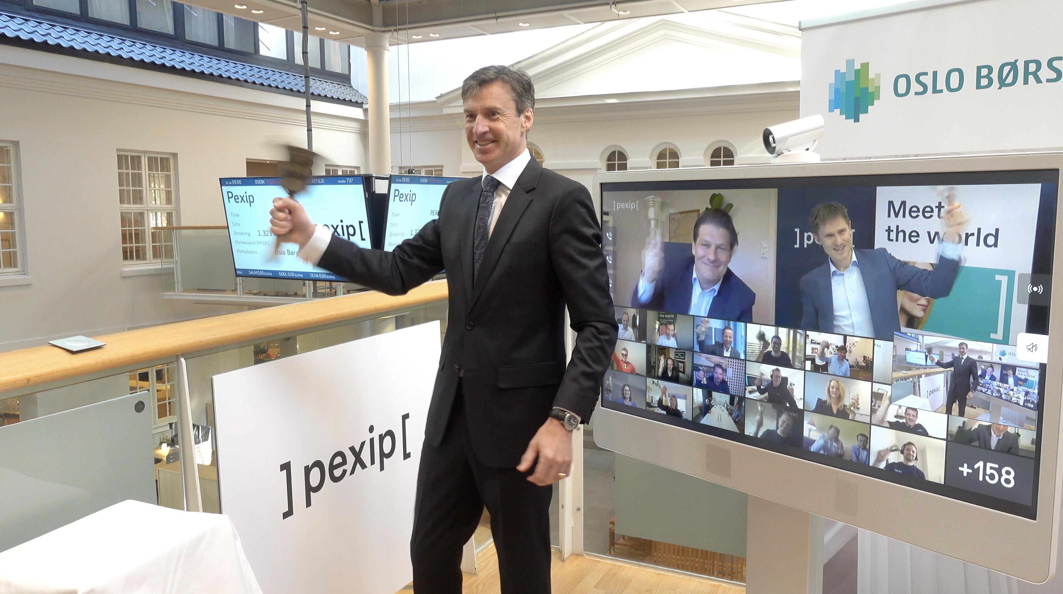 Börsnotering av Pexip