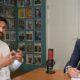 Rolling Optics vd och grundare blir intervjuad