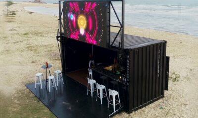 Bar på stranden från Alltainer