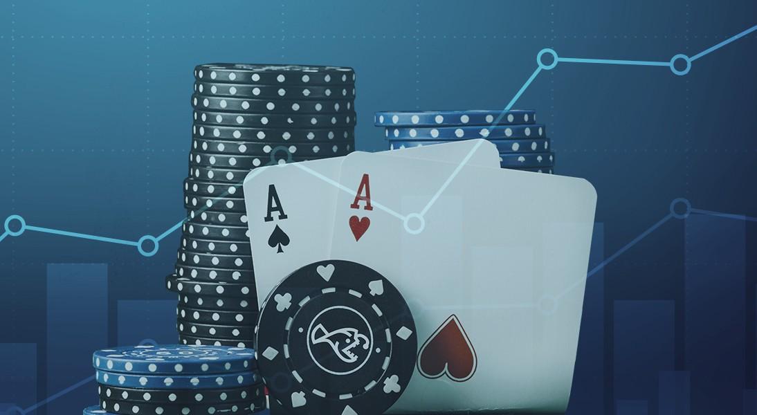 Kort och casinochips