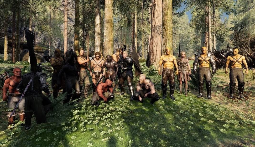 Spelare i Mortal Online 2