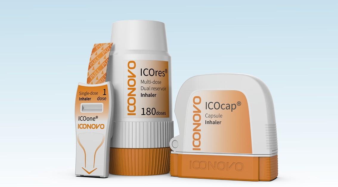 Iconovo-inhaler