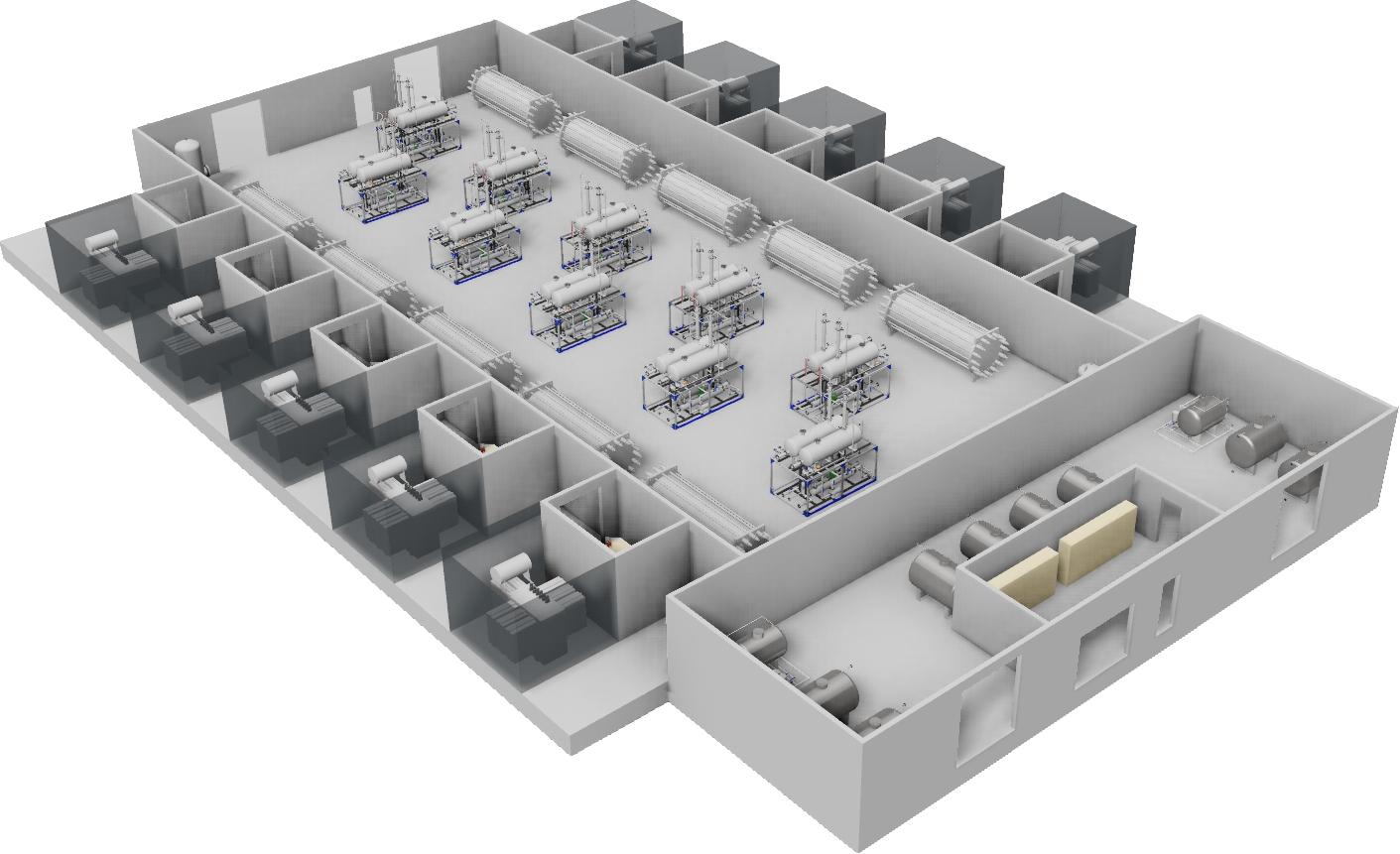 Vätgas-anläggning från HydrogenPro
