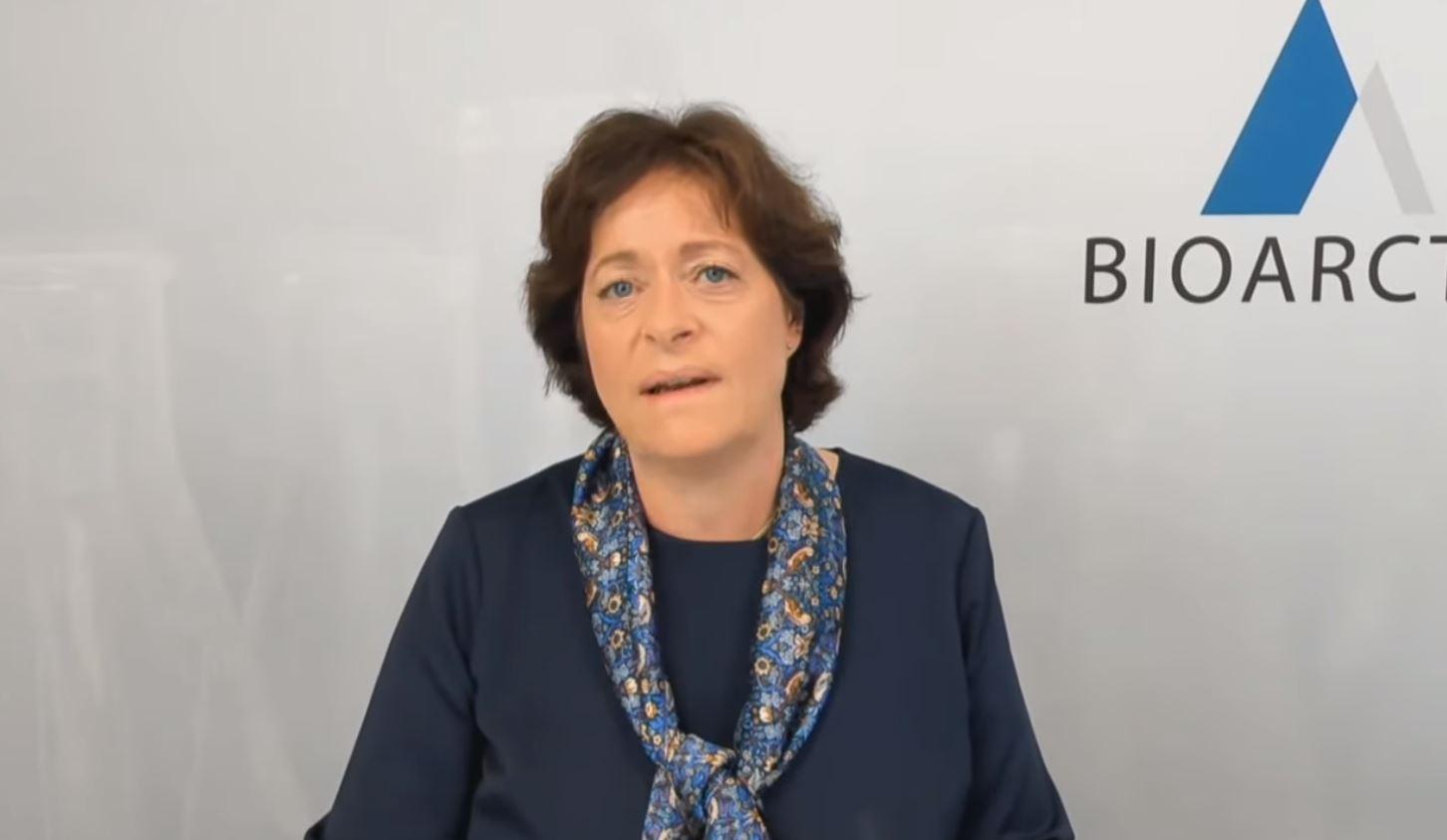 Gunilla Osswald, vd för Bioarctic