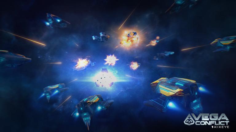 Spelgrafik från Vega Conflict