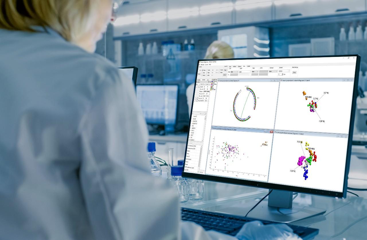Qlucore visualiserar medicinsk data