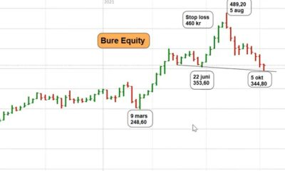 Bure Equity-kursgraf
